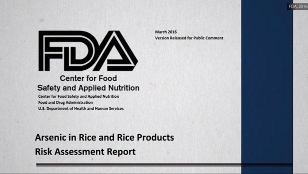 Risico-onderzoek naar arseen in rijst en rijstproducten